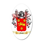 Fowle 35x21 Oval Wall Decal