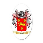 Fowl Oval Car Magnet