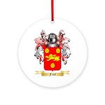 Fowl Ornament (Round)