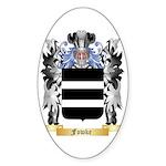 Fowke Sticker (Oval 50 pk)