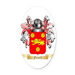 Fowell Oval Car Magnet