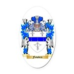Fowden Oval Car Magnet