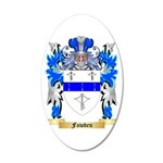 Fowden 20x12 Oval Wall Decal