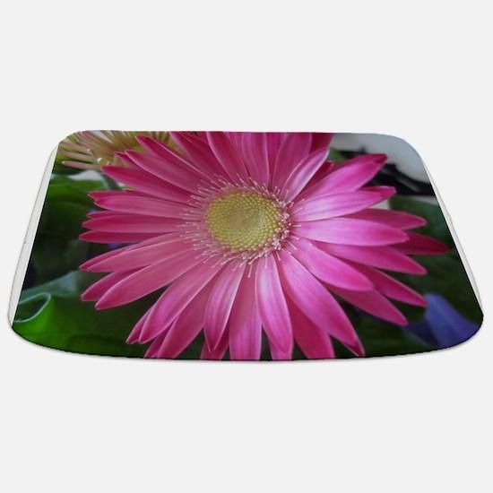 Pink Daisy Princess Bathmat