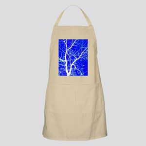 Tree with White Branches Apron