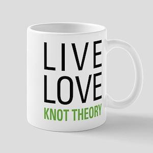 Live Love Knot Theory Mug
