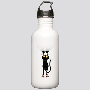 Hang in There Kitty Ca Stainless Water Bottle 1.0L