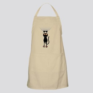 Hang in There Kitty Cat Apron