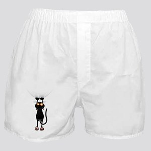 Hang in There Kitty Cat Boxer Shorts