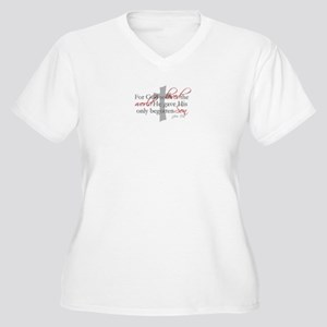 7243435adfa4 Jesus Risen Women s Plus Size T-Shirts - CafePress