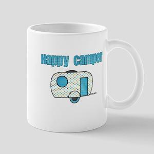 Happy Camper (Blue) Mugs