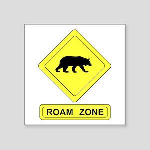 Roam Zone Bear Sticker