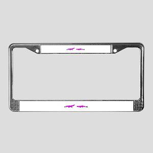 PurpleGreen License Plate Frame