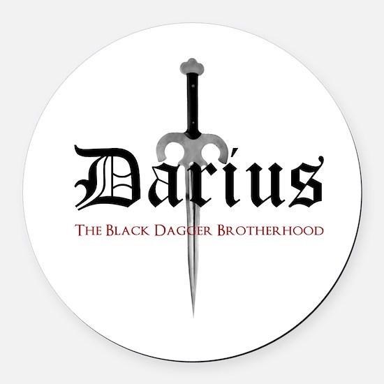 Darius Round Car Magnet