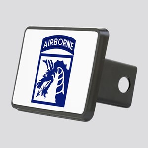 18th Airborne Rectangular Hitch Cover