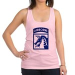 18th Airborne Racerback Tank Top