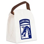18th Airborne Canvas Lunch Bag