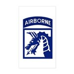 18th Airborne Sticker (Rectangle)