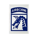 18th Airborne Rectangle Magnet