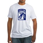 18th Airborne Fitted T-Shirt