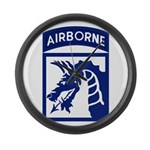 18th Airborne Large Wall Clock