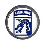 18th Airborne Wall Clock