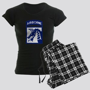 18th Airborne Women's Dark Pajamas