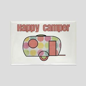 Happy Camper (Pinks) Magnets