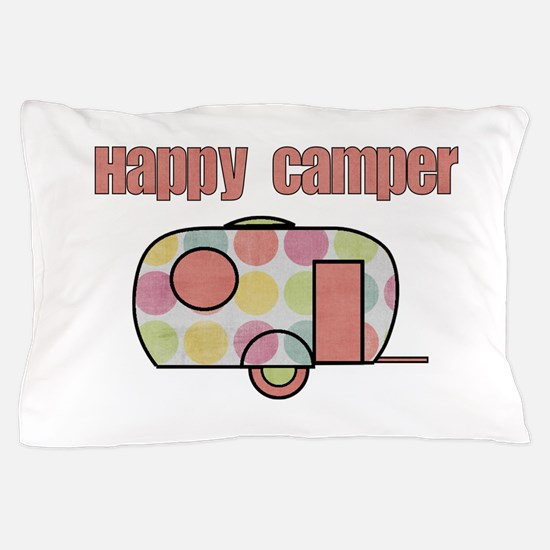 Happy Camper (Pinks) Pillow Case