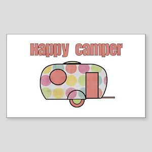 Happy Camper (Pinks) Sticker