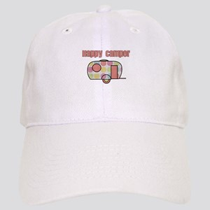 Happy Camper (Pinks) Baseball Cap