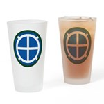 35th Infantry Drinking Glass