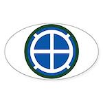 35th Infantry Sticker (Oval)