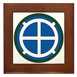 35th Infantry Framed Tile