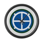 35th Infantry Large Wall Clock