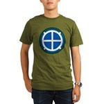 35th Infantry Organic Men's T-Shirt (dark)