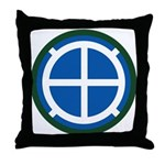35th Infantry Throw Pillow