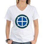 35th Infantry Women's V-Neck T-Shirt