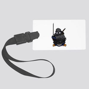 Ninja Penguin Luggage Tag