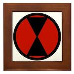 7th Infantry Framed Tile