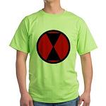 7th Infantry Green T-Shirt
