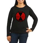 7th Infantry Women's Long Sleeve Dark T-Shirt