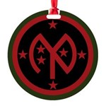 27th Infantry Round Ornament