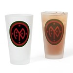 27th Infantry Drinking Glass