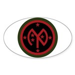 27th Infantry Sticker (Oval)