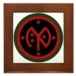 27th Infantry Framed Tile