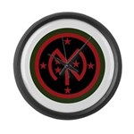 27th Infantry Large Wall Clock