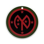 27th Infantry Ornament (Round)