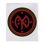 27th Infantry Throw Blanket