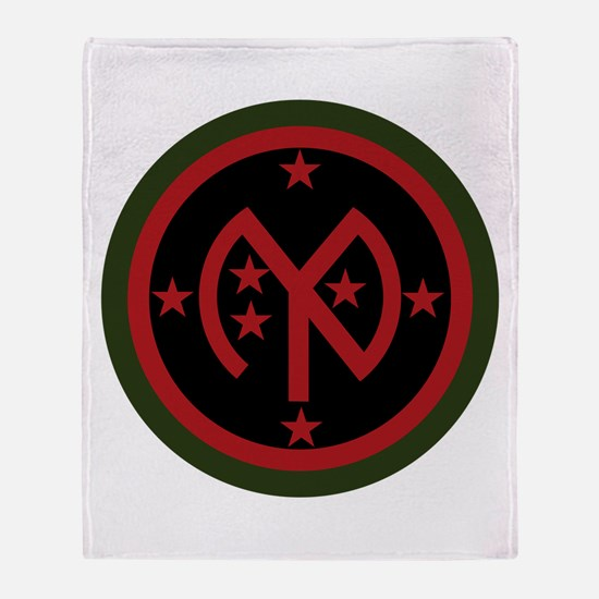 27th Infantry Throw Blanket